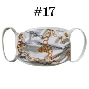 Fashion Printed Protective Face Mask - Brand New